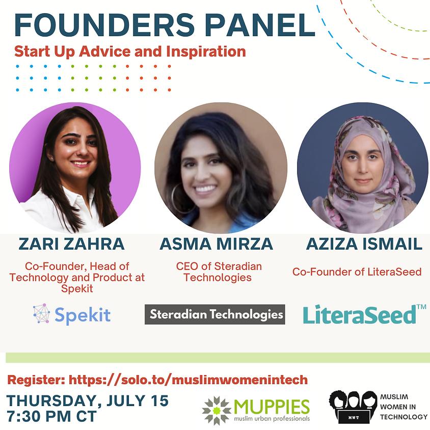 Founders Panel: Start Up Advice & Inspiration