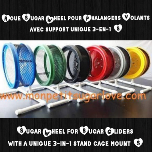 ROUE SUGAR WHEEL POUR PHALANGERS VOLANTS