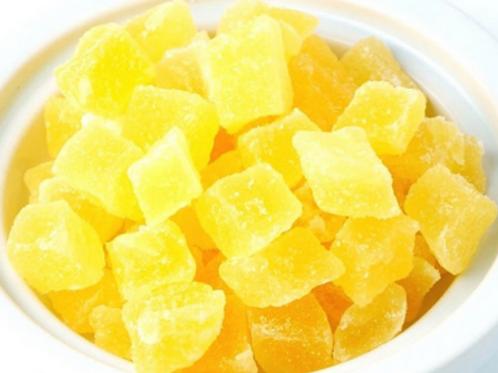 Délicieux Ananas en dés
