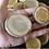 """Thumbnail: Disques de bois de pommier rustique 1.75"""" -2.25"""""""