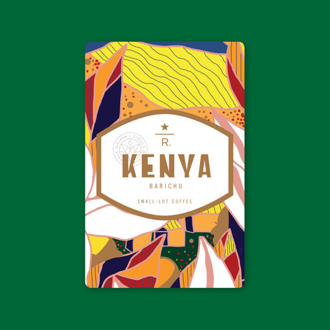 Kenya Barichu Coffee Card