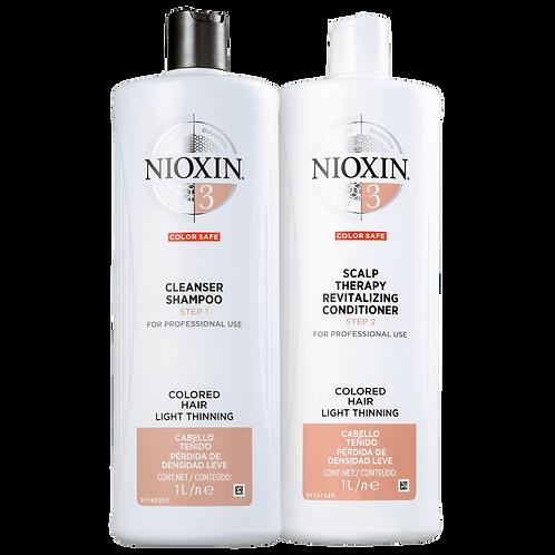 Kit Nioxin System 3 Salon Duo (2 Produtos)