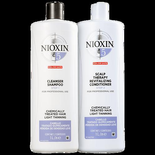Kit Nioxin System 5 Salon Duo (2 Produtos)