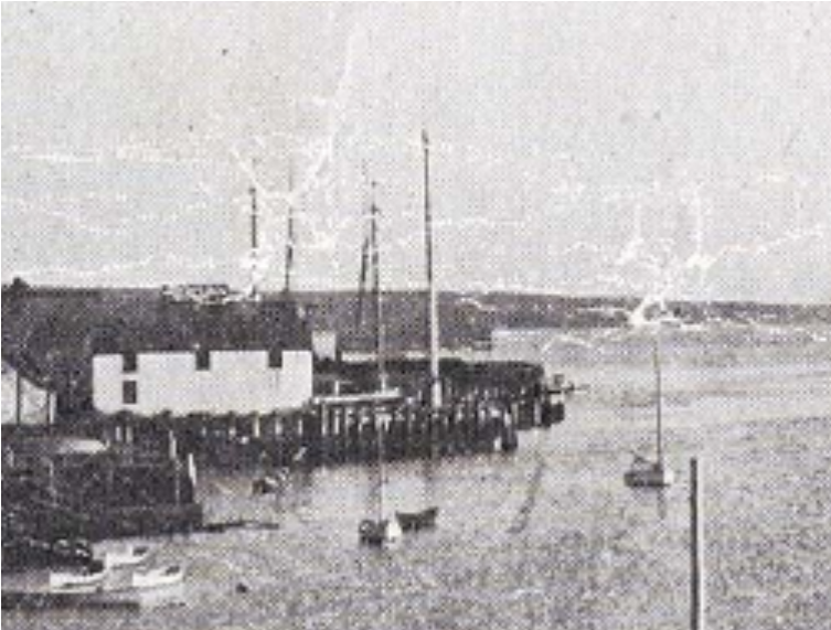 Shelburne Harbour View c1905 ~ Nova Scotia archives