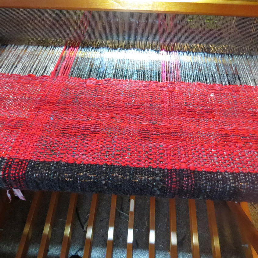 Wrap on the loom