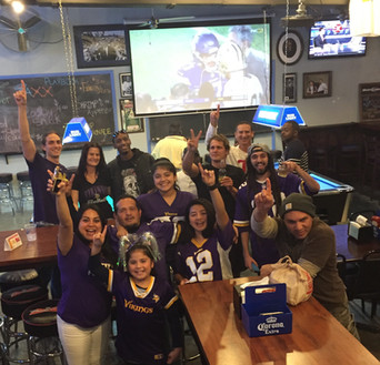 Go Vikings at Jaxx