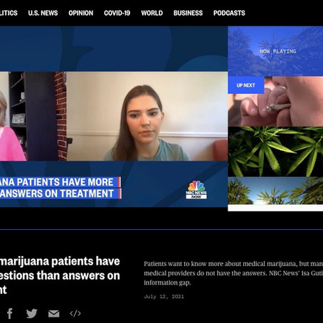 Watch my interview on NBC News