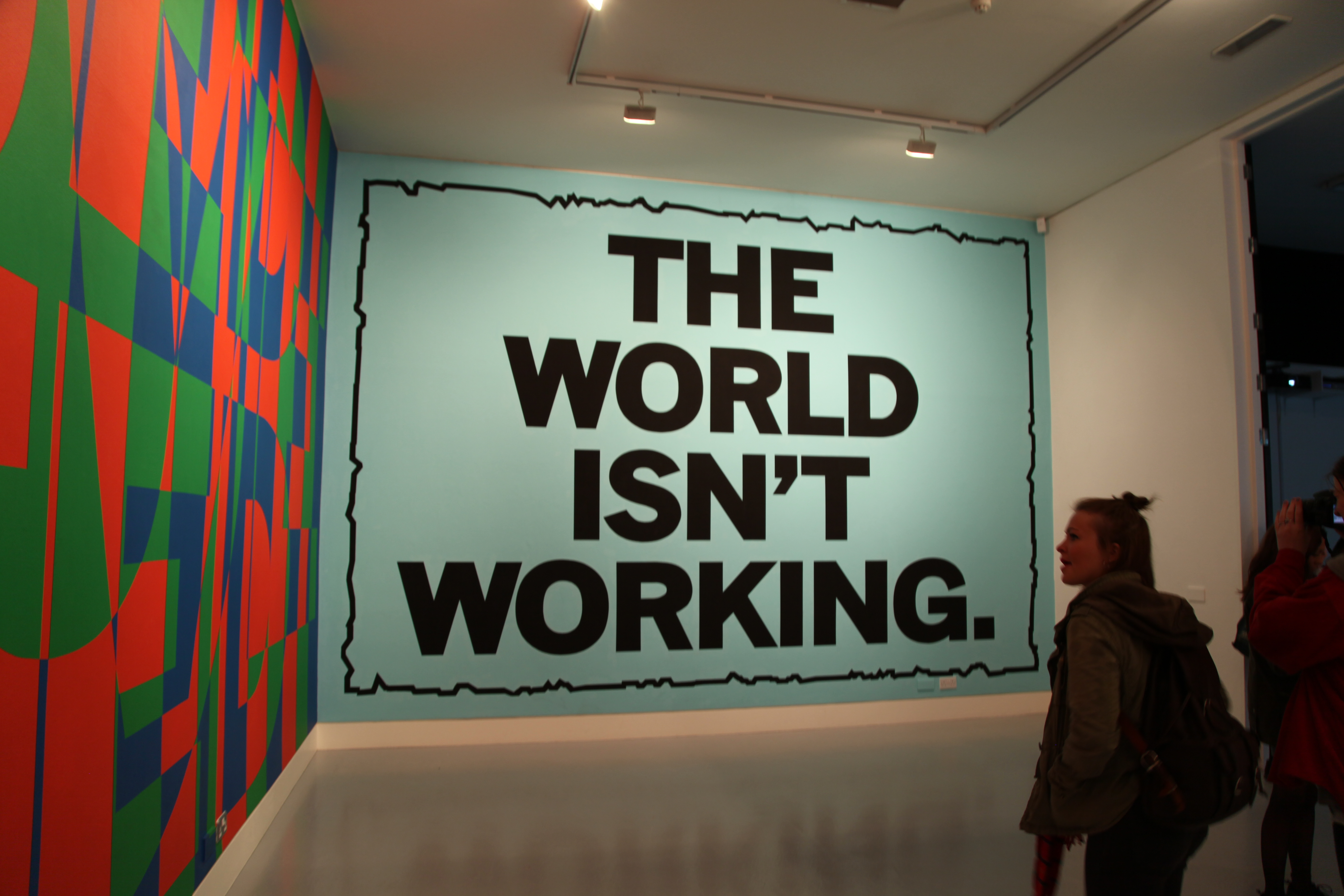 Mark Titchner Exhibition/1.5.14