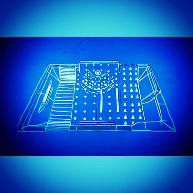 Instagram - #Kennington #skatepark glow in the dark wayfinding proposal #luminou