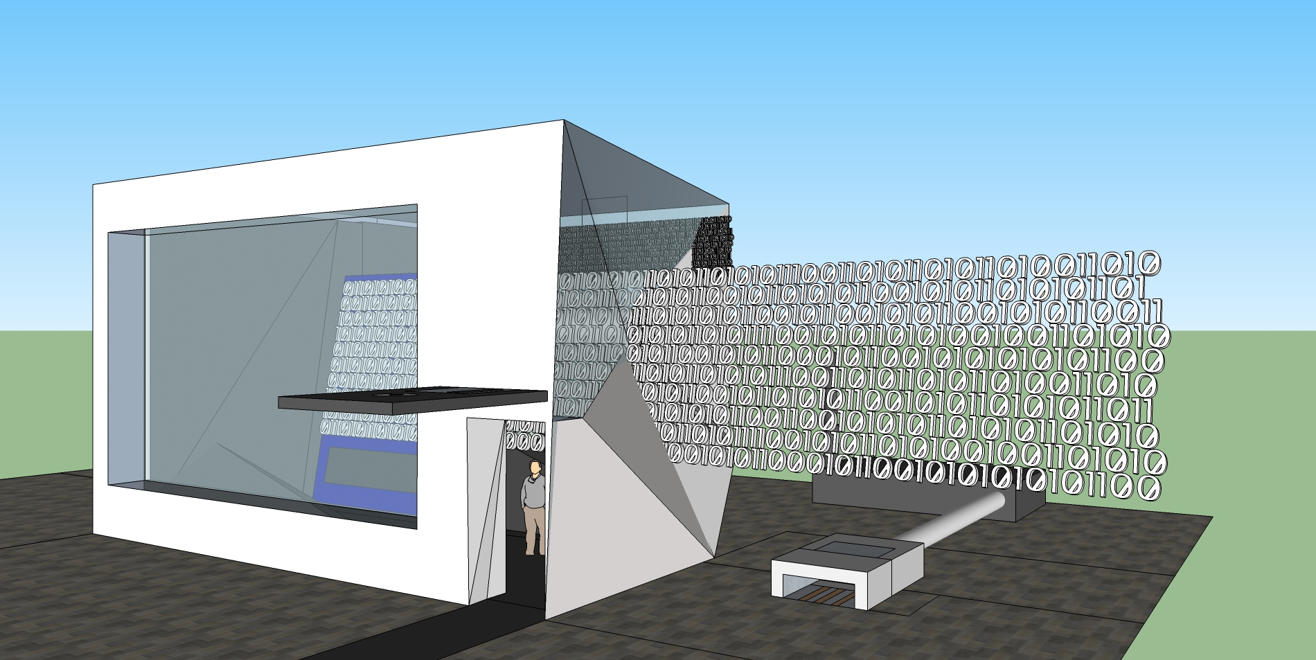 Internet Memorial 3D Proposal #6