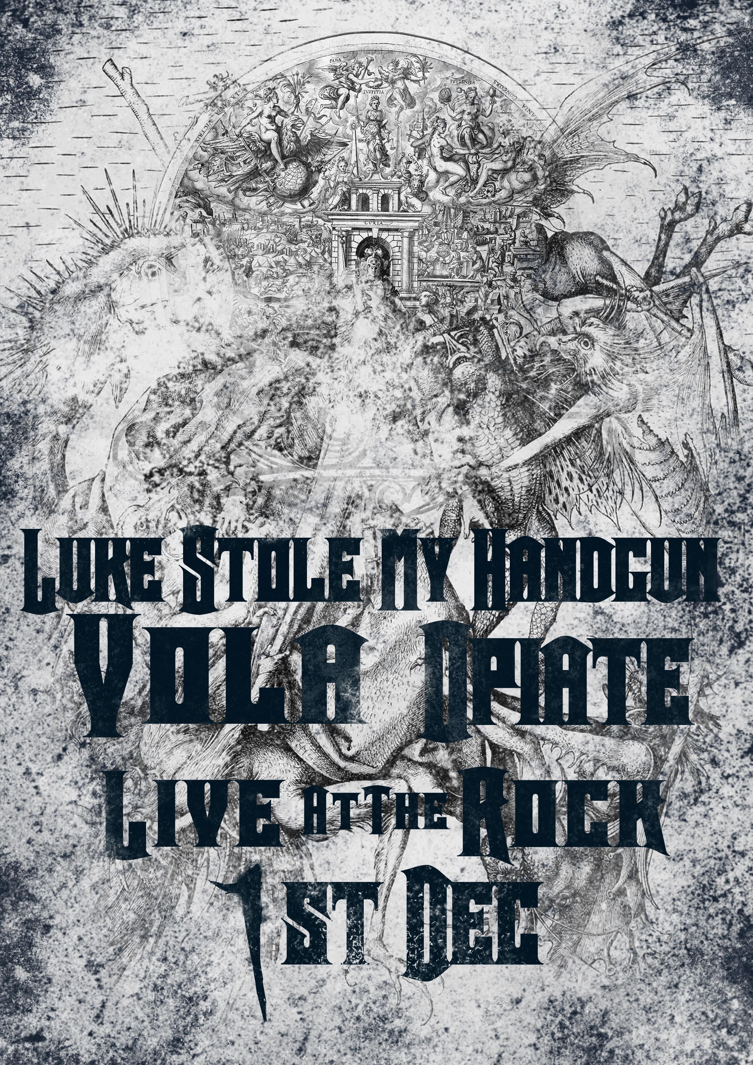 Underground Metal Show Poster