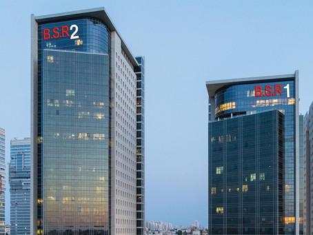 משרדים להשכרה במגדל בסר 2, דרך בן-גוריון 1, מתחם העסקים בני ברק (BBC)