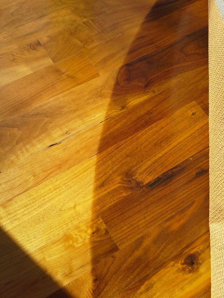Sun Damage around Carpet