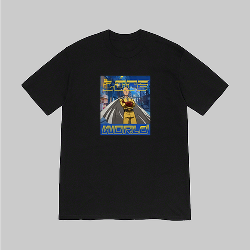 ONE PUNCH HEAVY TOP BLACK