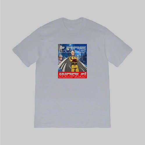 ONE PUNCH HEAVY TOP GREY