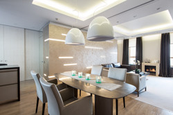 кухня-гостиная, дизайн интерьера