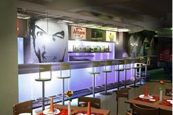 Кафе-клуб, интерьер, дизайн, бар