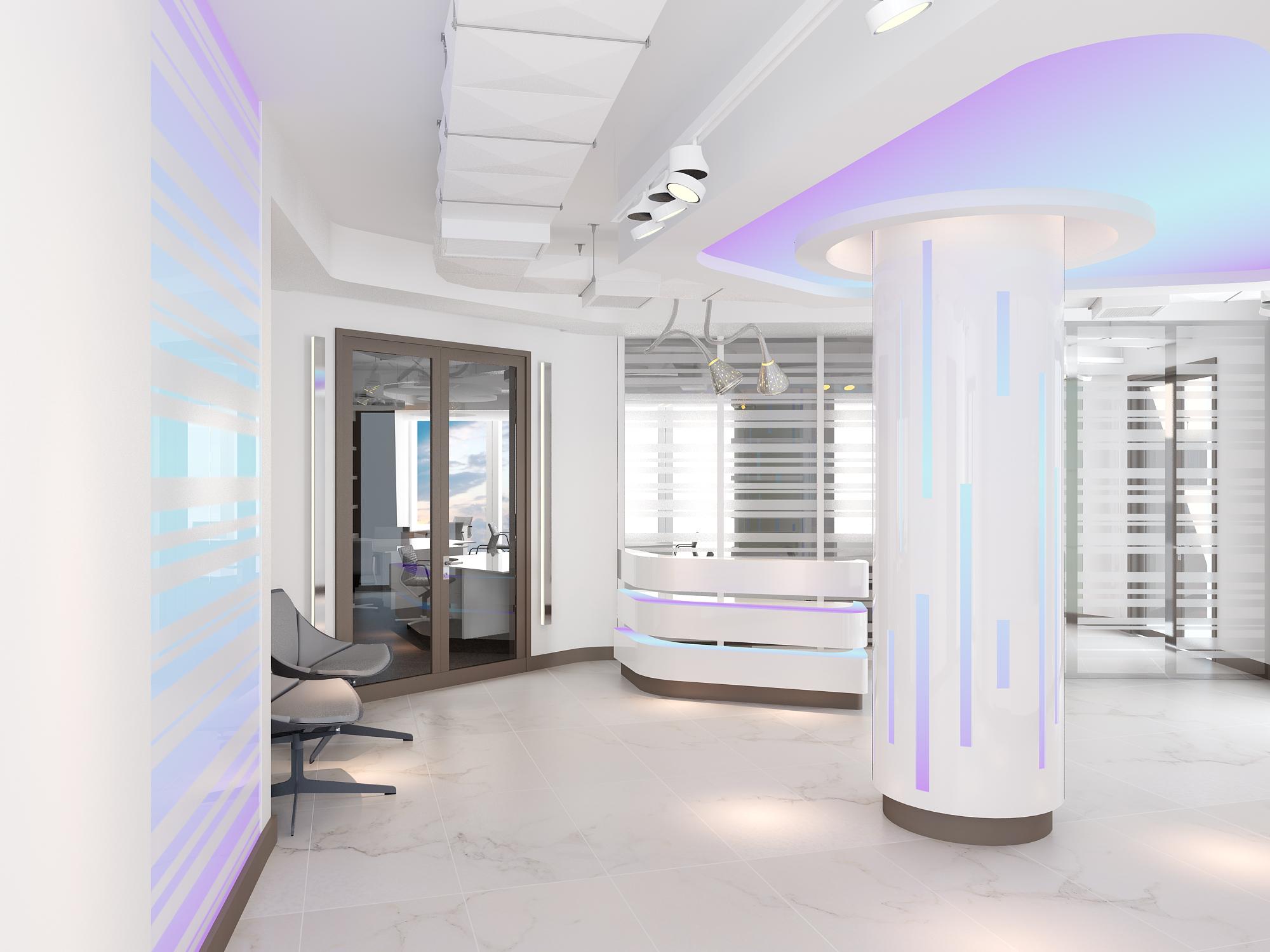 Офис, БЦ Федерация, Москва