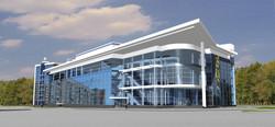 Торговый центр, проект, архитектура