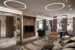 гостиная, интерьер, дизайн, москва