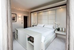 Спальня, дизайн, интерьер, светлая