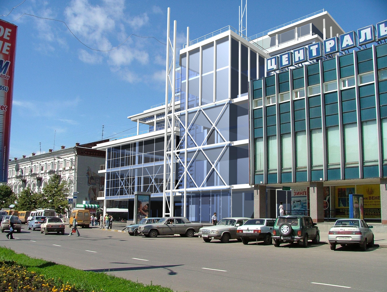 Дом, торговый центр, архитектура