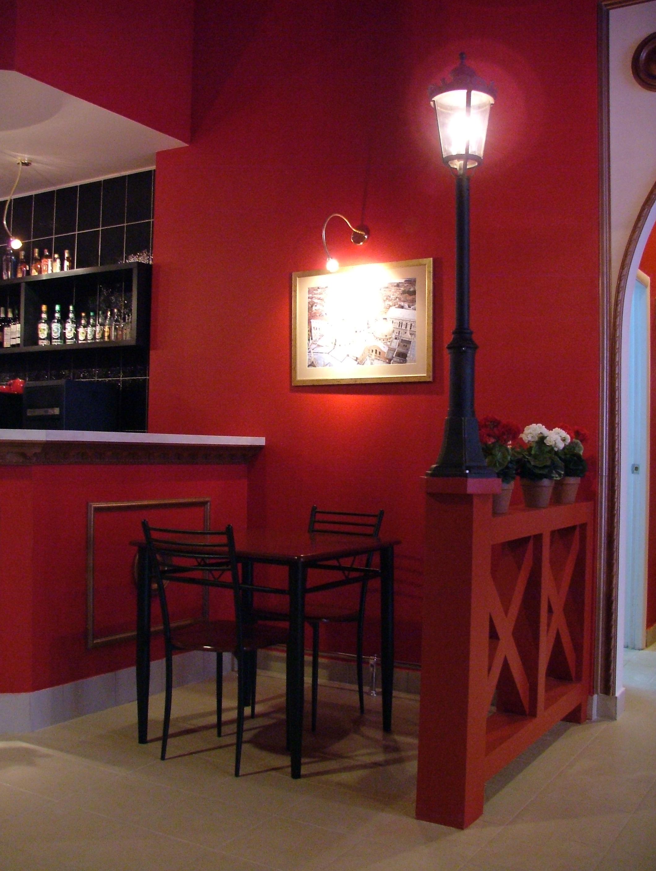 Пиццерия, дизайн интерьера, кафе