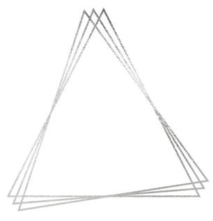 Triple triangle frame mirroring triangle spiral logo of Awakened Dreams Coaching & Consulting