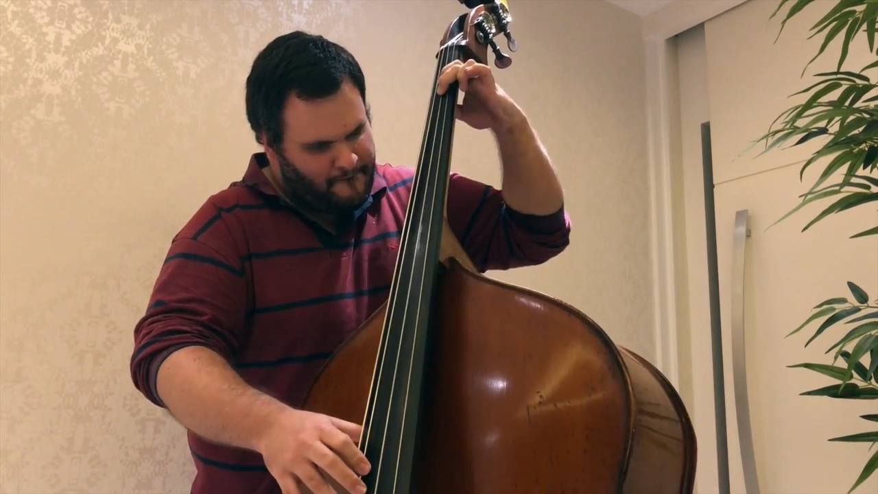 DOUBLE BASS SOLO: CAELESTI (DOMENICO BOTELHO)