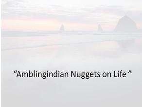Amblingindian nuggets on life - on ego