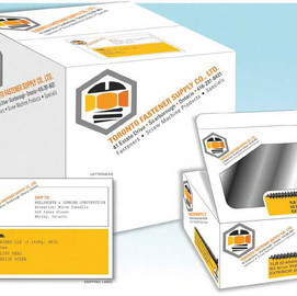 Extending the brand image to all the colaterol materials, packaging and environmental graphics