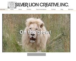 Landing page Silver lion