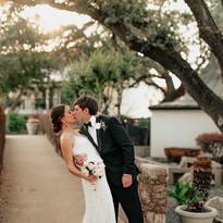 Wedding Portrait Near Front Entrance