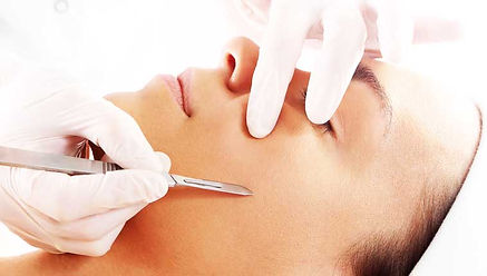 Dermaplaning Skin Exfoliation Treatments by Facial Esthetician Sandals Med Spa West Palm Beach FL