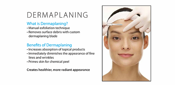 Dermaplaning Anti-Aging Skin Facial Treatment in West Palm Beach FL at Sandals Med Spa by Facial Estheticians