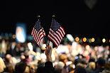 dos banderas de EE.UU.