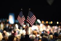 deux drapeaux américains