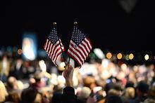 duas bandeiras dos EUA