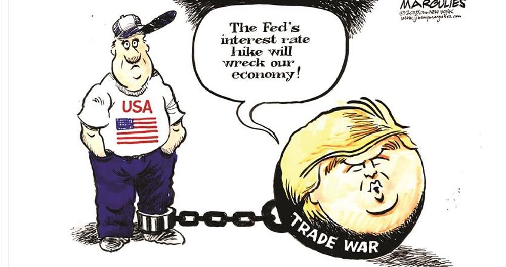 מלחמת הסחר - טראמפ מול הפד