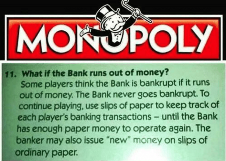 banking , monopoly