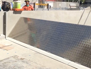 More Ram Push flood barriers and 24/7 flood doors installed in Sydney