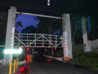 Macquarie Centre flood barrier
