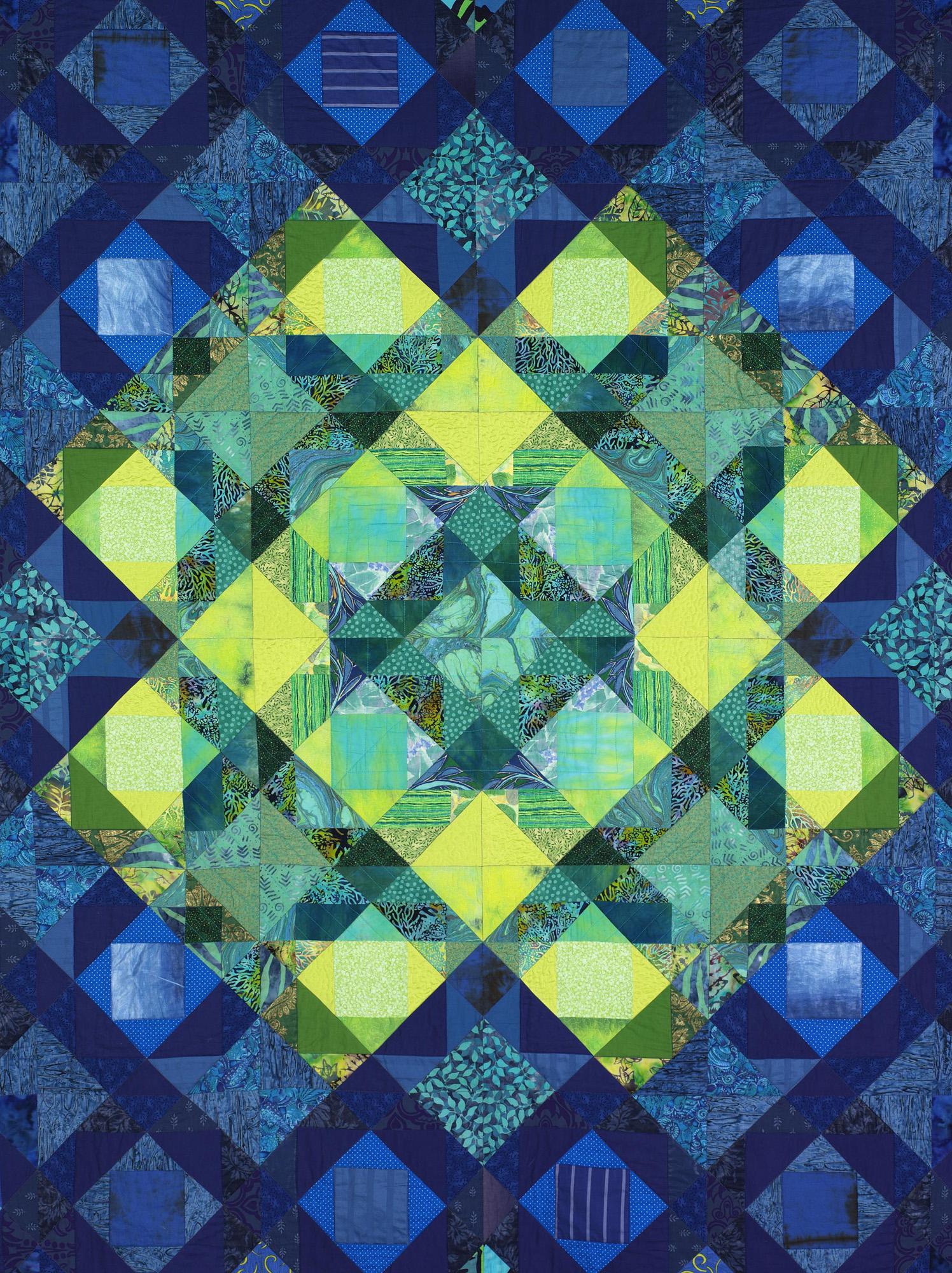 Kristina's Quilt (252 x 250 cm)