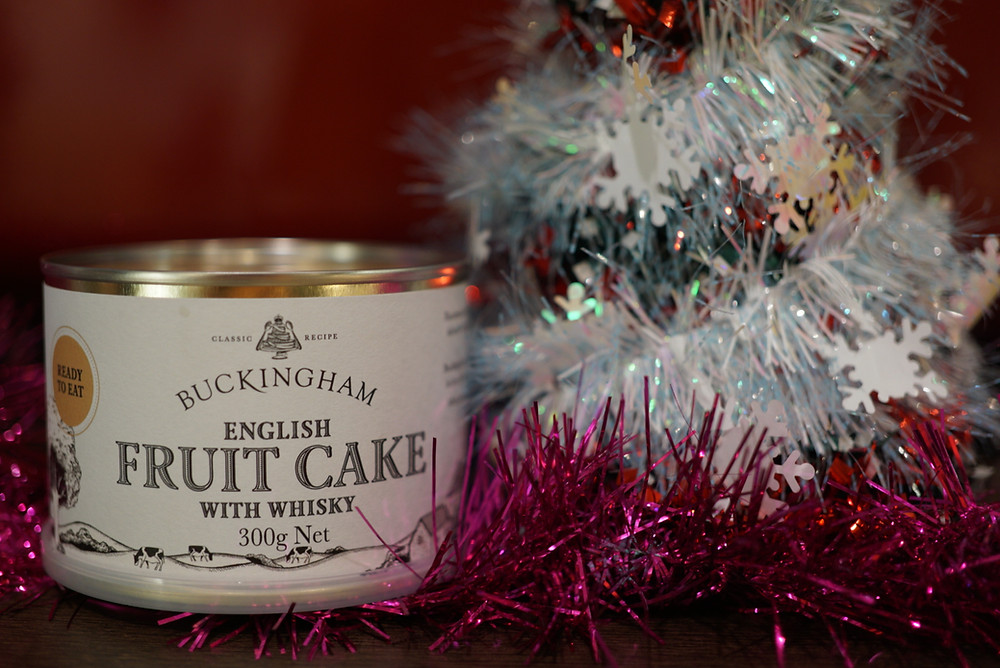Buckingham English Fruit Cake with Whisky