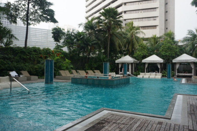 Hotel Pool at Grand Hyatt Singapore