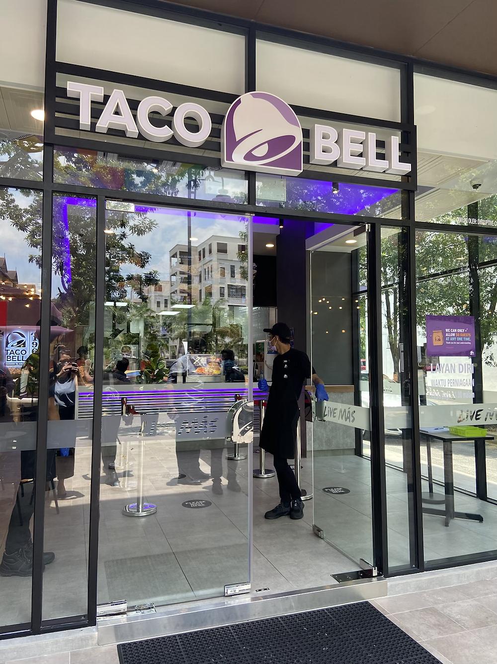 Taco Bell Malaysia menu and price