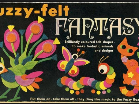 Futuristic uses for Fuzzy Felt