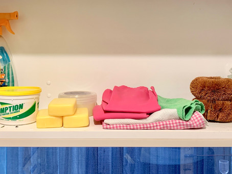 Declutter your laundry monsters by making lovely 'families'