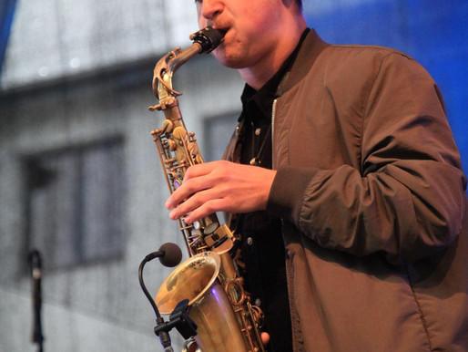Jaunas džiazas. Saksofonininkas Davit Avetisyan