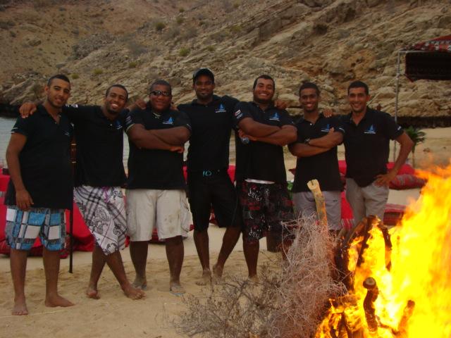 The Jassa Beach Sea Tourism Team